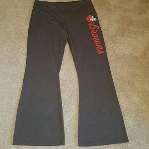 Browns football NFL team apparel  XL sweatpants